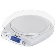 ATH-6218 (white) Весы кухонные электронные с чашей