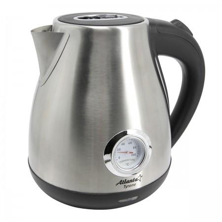 ATH-2438 (black) Чайник металлический электрический
