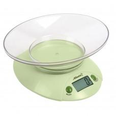 ATH-803 (green) Весы кухонные электронные с чашей