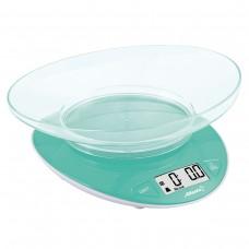 ATH-6199 (green) Весы кухонные электронные с чашей
